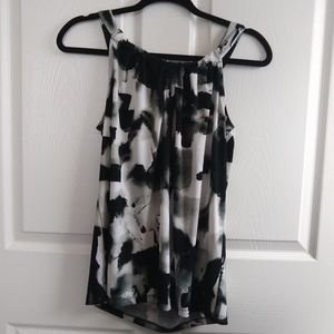 Philosophy Black and White Blouse NWT S